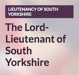 The Lord Lieutenant of South Yorkshire
